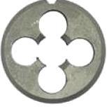 Плашка для метрической резьбы, сталь 9ХС
