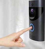 Домофон Anytek Smart Doorbell B30 1080p с Wi-Fi и датчиком движения Черный