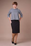 """#Шерстяной костюм, юбка """"карандаш"""" с завышенной талией и кофточка."""