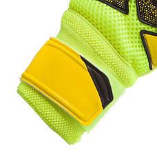 Перчатки вратарские юниорские с защитными вставками на пальцы FB-882B REUSCH размер 7, фото 3