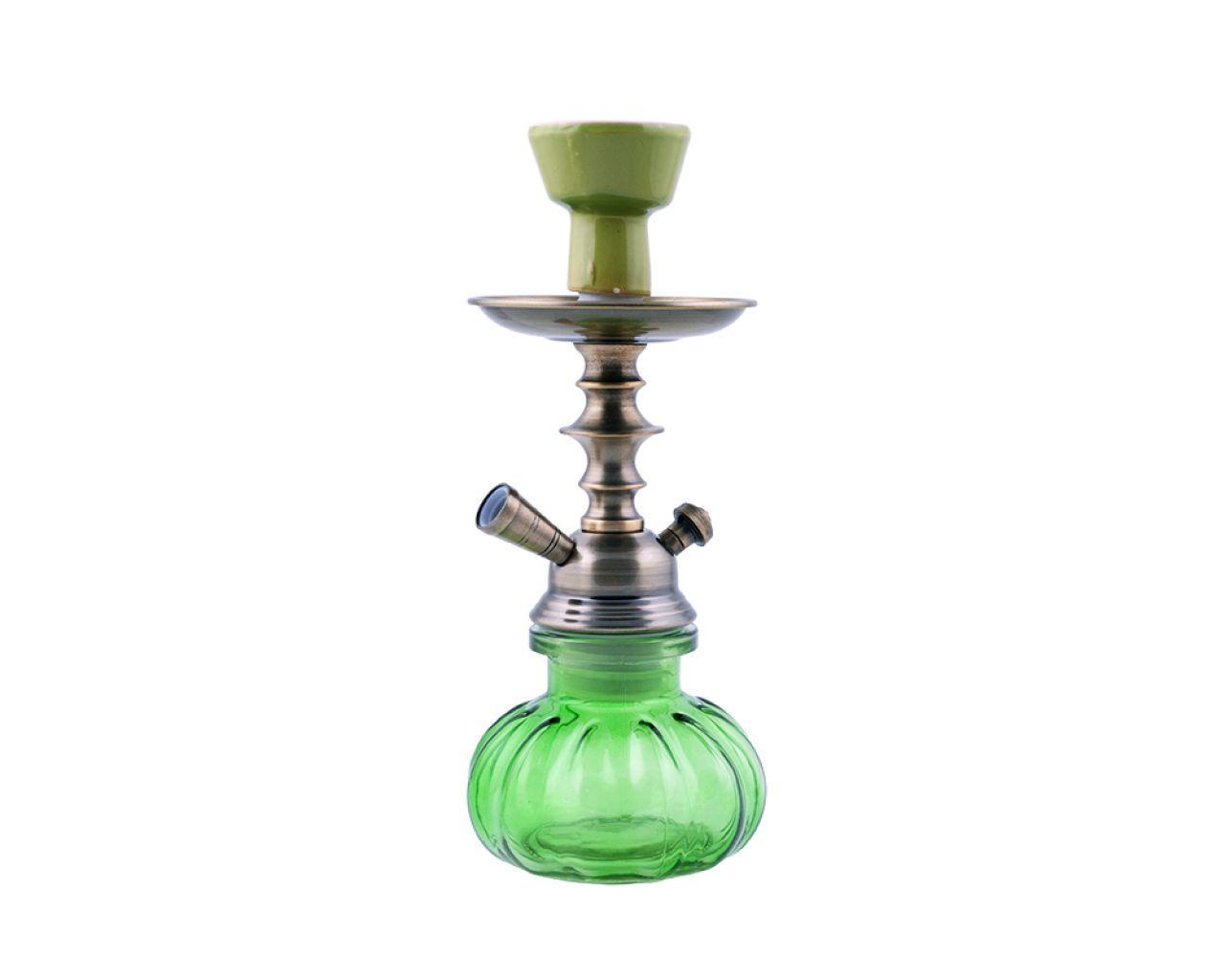 Кальян на одну персону (27см) №5488 (Зеленый)
