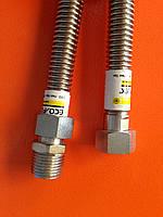 Гофрированный шланг газ 1/2 гш 40 см. Eco-flex