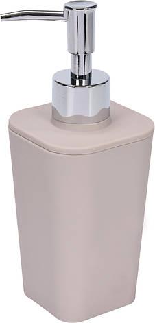 Дозатор жидкого мыла бежевый Fala 69347, фото 2