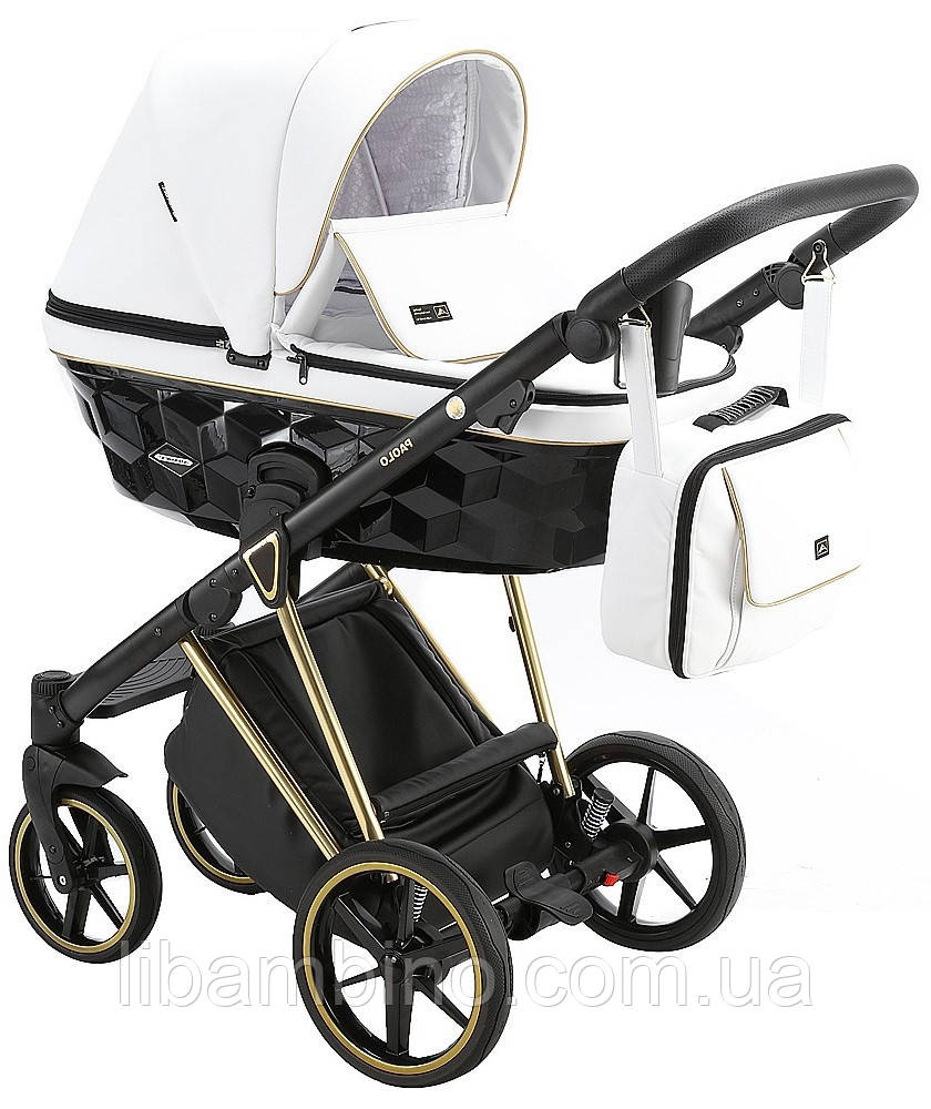 Дитяча універсальна коляска 2 в 1 Adamex Paolo SA-500
