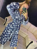 Женский теплый серый плюшевый домашний халат с лапами, фото 4