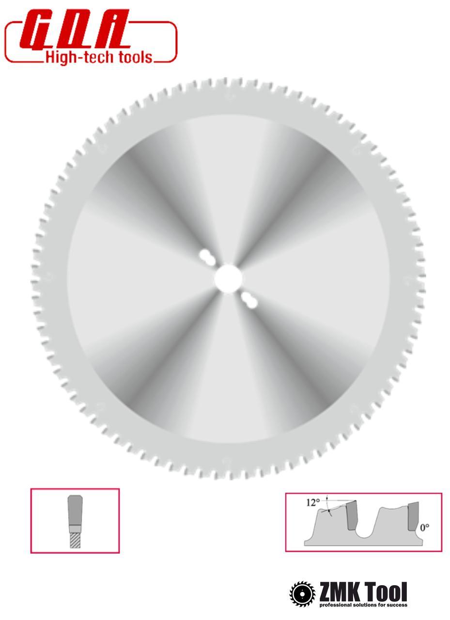 Пила дисковая для резки металла, стали, PVC 254x25,4x2,4/1,8 z60