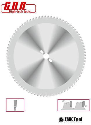 Пила дисковая для резки металла, стали, PVC 254x25,4x2,4/1,8 z60, фото 2