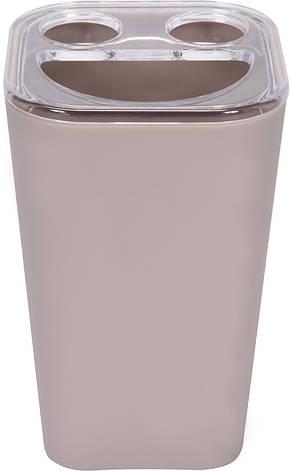 Чашка для зубних щіток бежева Fala 69345, фото 2