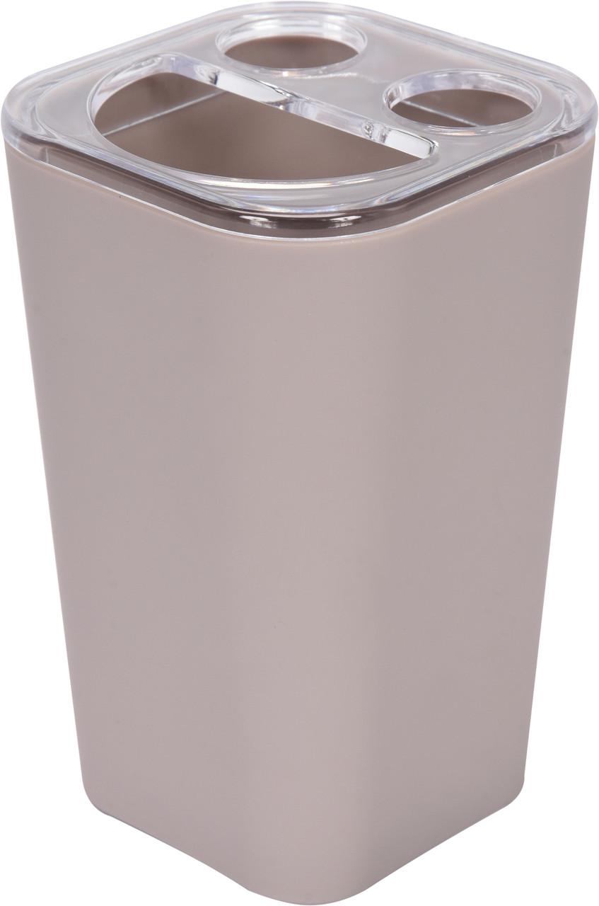 Чашка для зубних щіток бежева Fala 69345