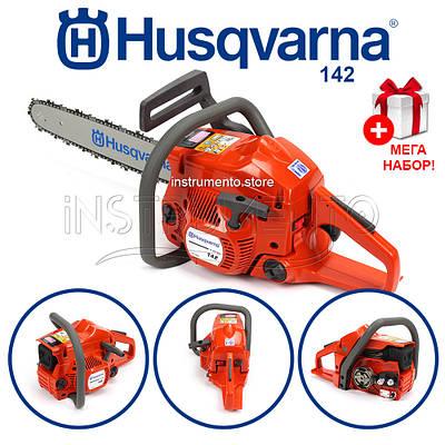 Бензопила Хускварна Husqvarna 142 USA (шина 38 см, 1.9 кВт) Пила Хускварна 142 E-series