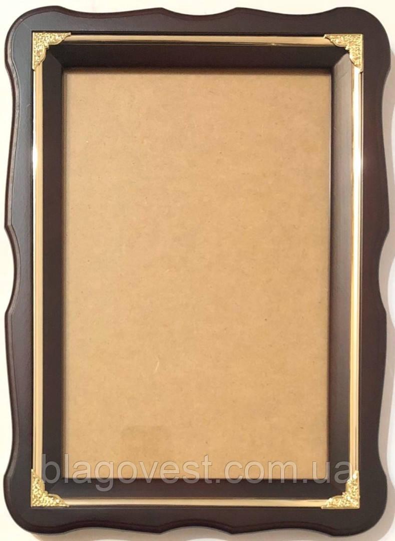 Кіот А 27х37см. фігурна рама молдинг (під літографію 20х30см)