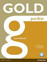 Gold Pre-First New Edition Coursebook and CD-ROM Pack