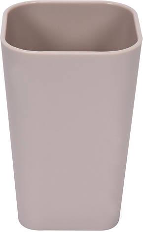 Чашка для зубних щіток бежева Fala 69344, фото 2