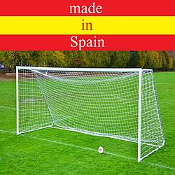 "Футбольная сетка ""Юниорская"", шнур - 3.5 мм. White (Испания)"