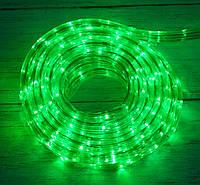 Распродажа! Уличная новогодняя дюралайт гирлянда на 8 метров Xmas Rope Light G Зеленая, светодиодная гирлянда, фото 1