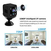 Мини Камера X6 WiFi 1080 p беспроводная с ночным режимом