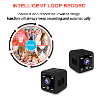 Микро Камера WiFi 1080 p x6 беспроводная с ночным режимом