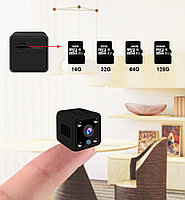 X6 Mini Камера WiFi 1080 p беспроводная с ночным режимом