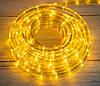 Светодиодная дюралайт гирлянда  на 8 метров Xmas Rope Light WW Теплый белый | вулична гірлянда (NV)