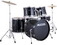 Акустична барабанна установка MAXTONE MXC3005 (Black)