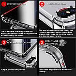 Противоударный прозрачный чехол для  Samsung Galaxy A21/A215, фото 4