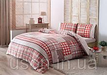 Комплект постельного белья из фланели евро размер ТМ Tac Calida