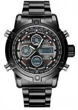 Часы мужские Amst, черный