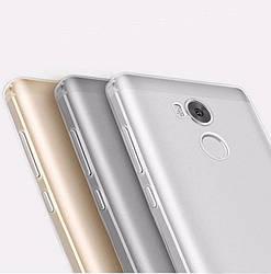 Прозрачный Чехол Xiaomi Redmi 4 Prime (ультратонкий силиконовый) (Сяоми Ксиаоми Редми 4 Прайм)