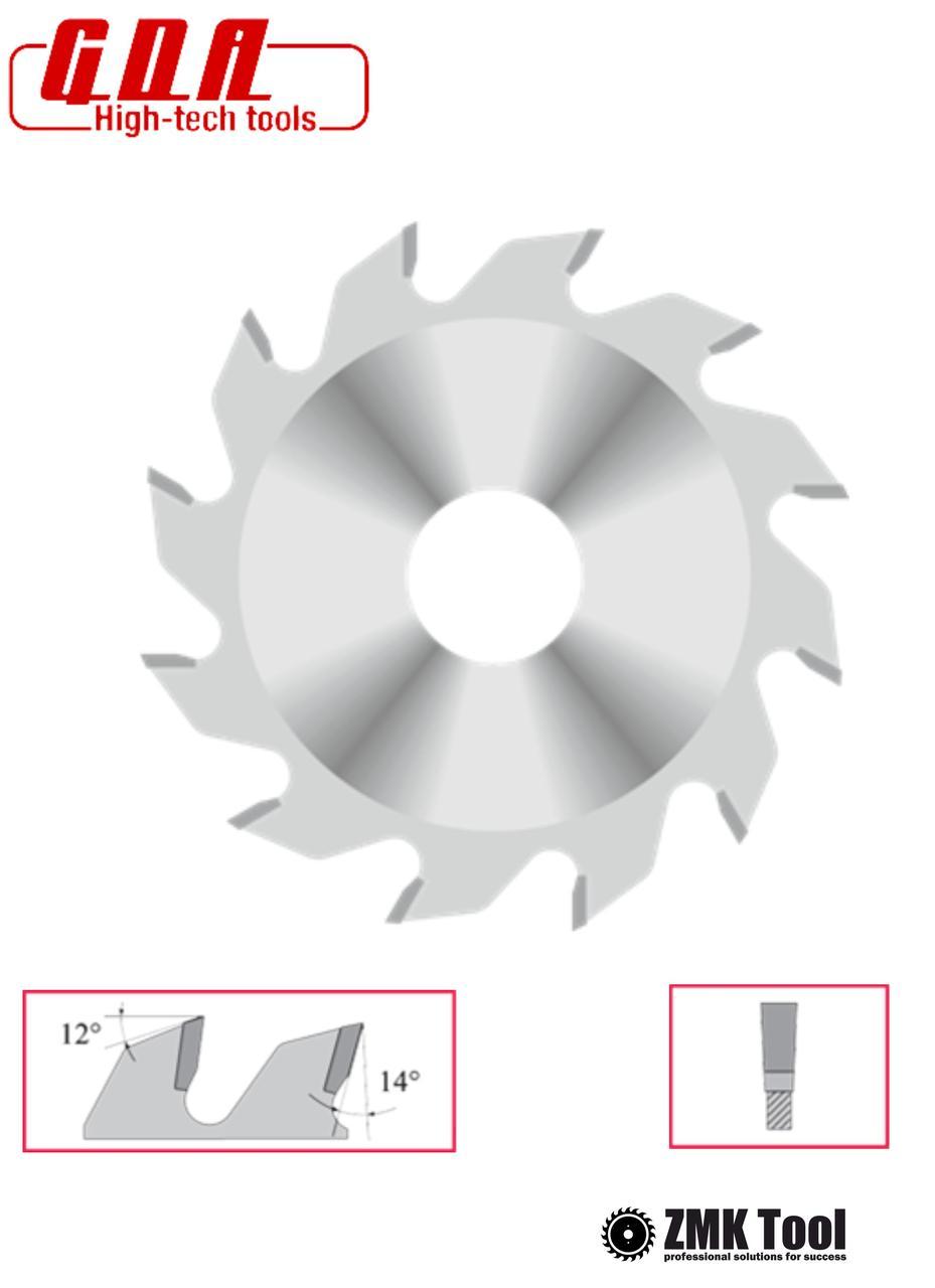 Пила пазовая 6 мм 180x30x6,0/4,0 z24