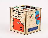 Развивающая игрушка Бизикуб | Игры на логику | Логические игры | Развивающие игрушки | Деревянные игрушки, фото 2