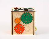 Развивающая игрушка Бизикуб | Игры на логику | Логические игры | Развивающие игрушки | Деревянные игрушки, фото 3