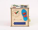 Развивающая игрушка Бизикуб | Игры на логику | Логические игры | Развивающие игрушки | Деревянные игрушки, фото 4
