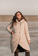 Жіноча куртка тканина: плащова тканина Канада ( водонепроникна)синтепон-300,з капюшоном(2хл-6хл