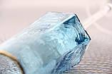 """Бокалы для шампанского голубые 6шт, 200мл """"Бирюза"""" набор, фото 7"""