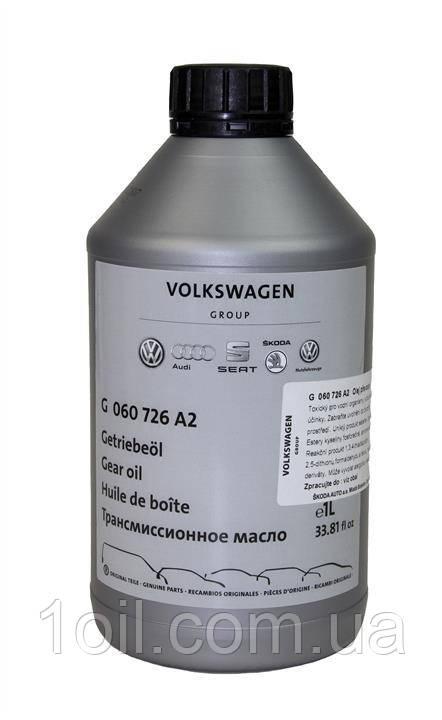 Масло трансмиссионное  VW VAG  G060726A2  Gear Oil  75w-90 GL4  1л