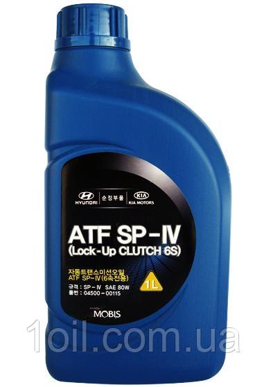 Масло АКПП Hyundai Kia Mobis ATF SP IV 04500-00115 налив (з 20л)