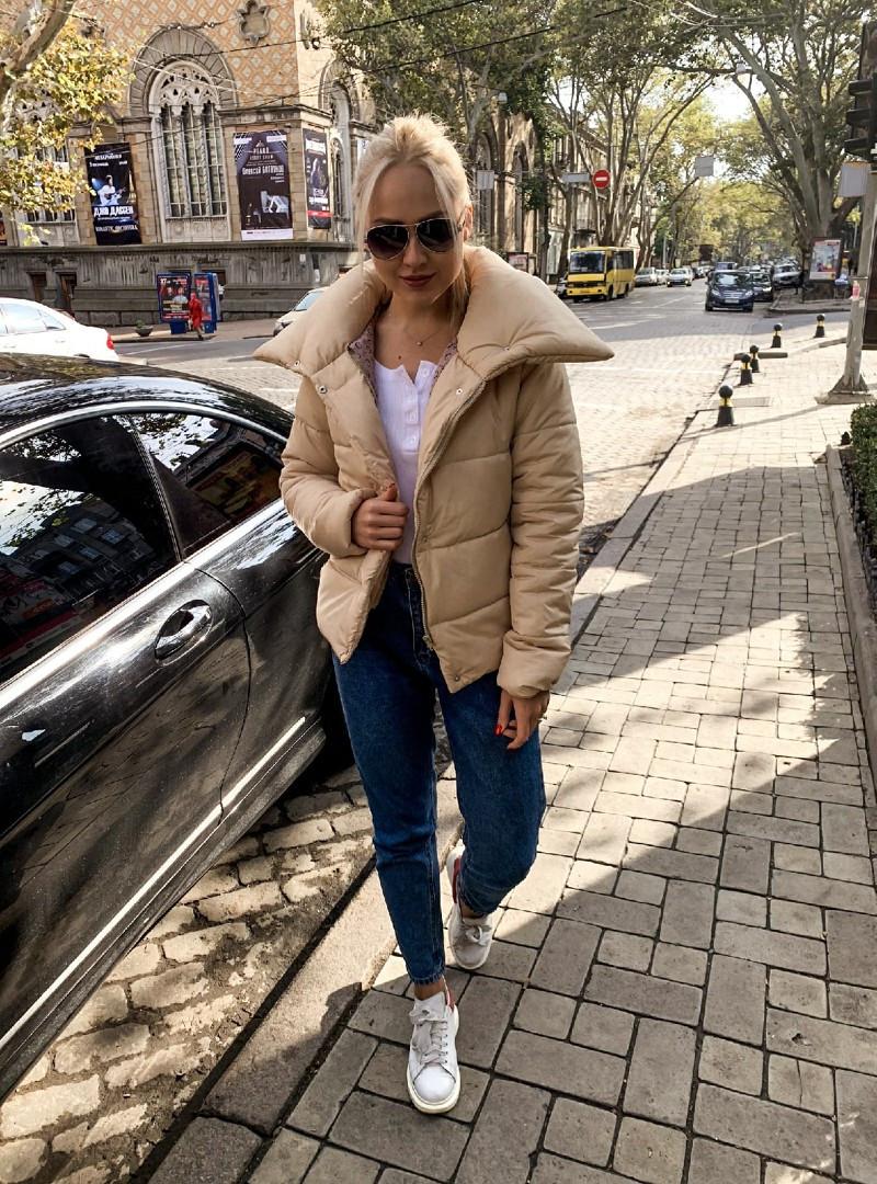 Куртка женская беж