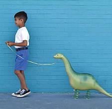Куля фольгований динозавр з яйцем 117 див.