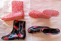 Сапоги женские силикон укороченные 36-41