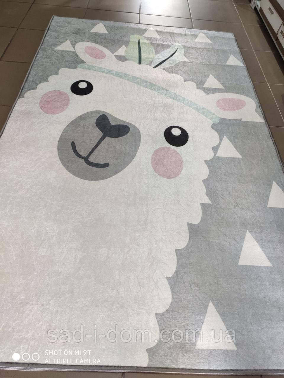 Коврик в детскую комнату, детский ковер 140*190 см, Sheep