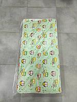 Матрас в детскую кроватку трехслойный КПК толстый (кокос-поролон-кокос)