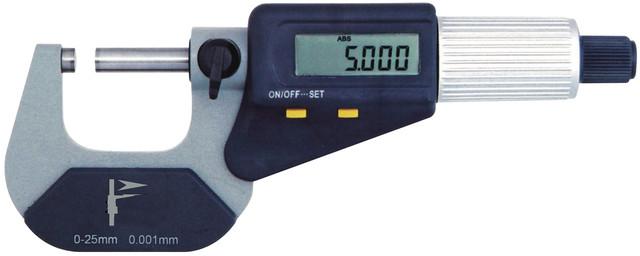 Микрометры цифровые с ценой деления 0,001 мм