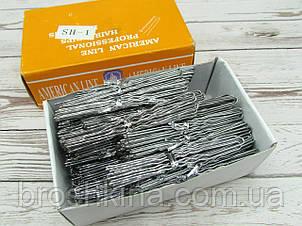 Шпильки для волосся 7.5 см сріблясті 500 шт/уп.