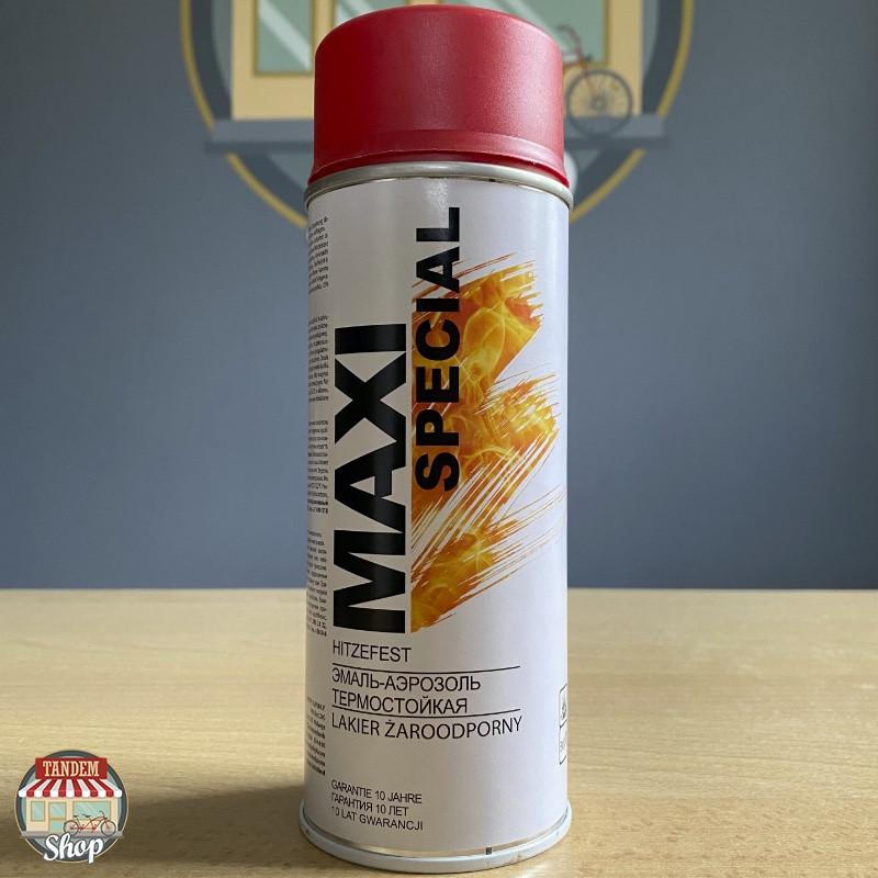 Эмаль термостойкая до 650°C Maxi Special, 400 мл Аэрозоль Красный