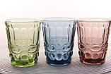 """Стеклянные стаканы набор 6шт, 250мл """"Винтаж"""" зеленые, фото 5"""