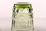 """Стеклянные стаканы набор 6шт, 250мл """"Винтаж"""" зеленые, фото 4"""