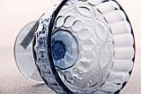 "Салатник стеклянный 350мл, 10*12см ""Винтаж"" синий, фото 4"