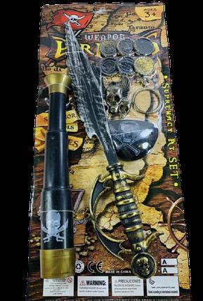 Набор пирата с монетками и трубой ABC, фото 2