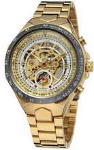 Часы мужские Winner, золотистый