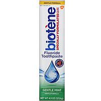 Biotene Dental Products, Фтористая зубная паста Gentle Formula, 121,9 г